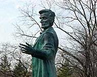 Lincoln Statue Carthage College Kenosha, WI