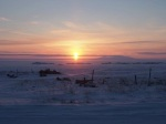 Alaskan sunrise.  Pastor Mark Orf