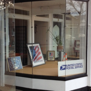 "Storefront of ""new"" U.S. Post Office - New Canaan, CT"